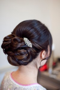 Hair Up Wedding Hair ideas for brides wanting to wear ...