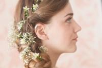 Wedding Hair with Flowers ideas. Festival inspired hair ...