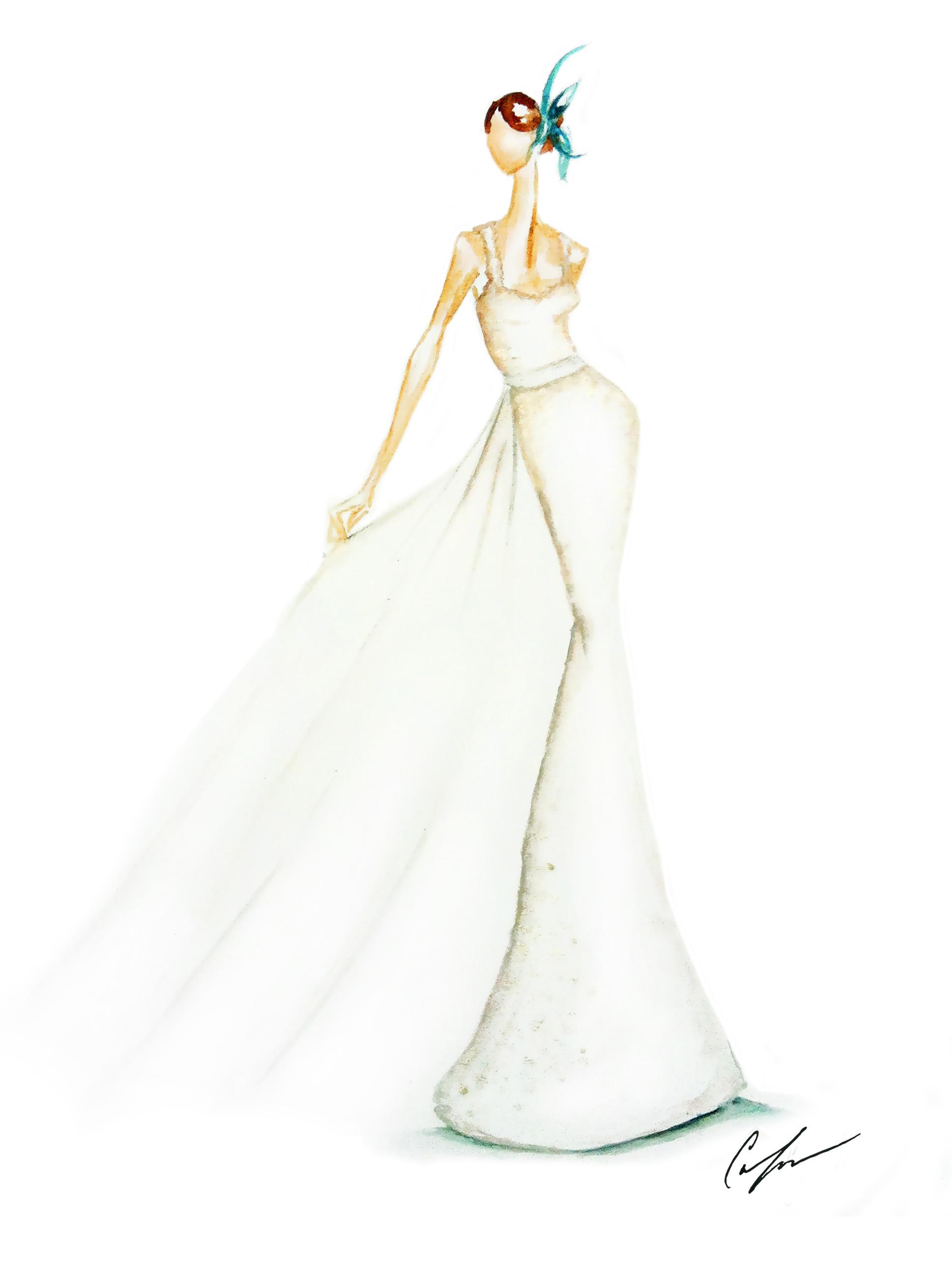 Bridal Illustrations — Hello|Claire
