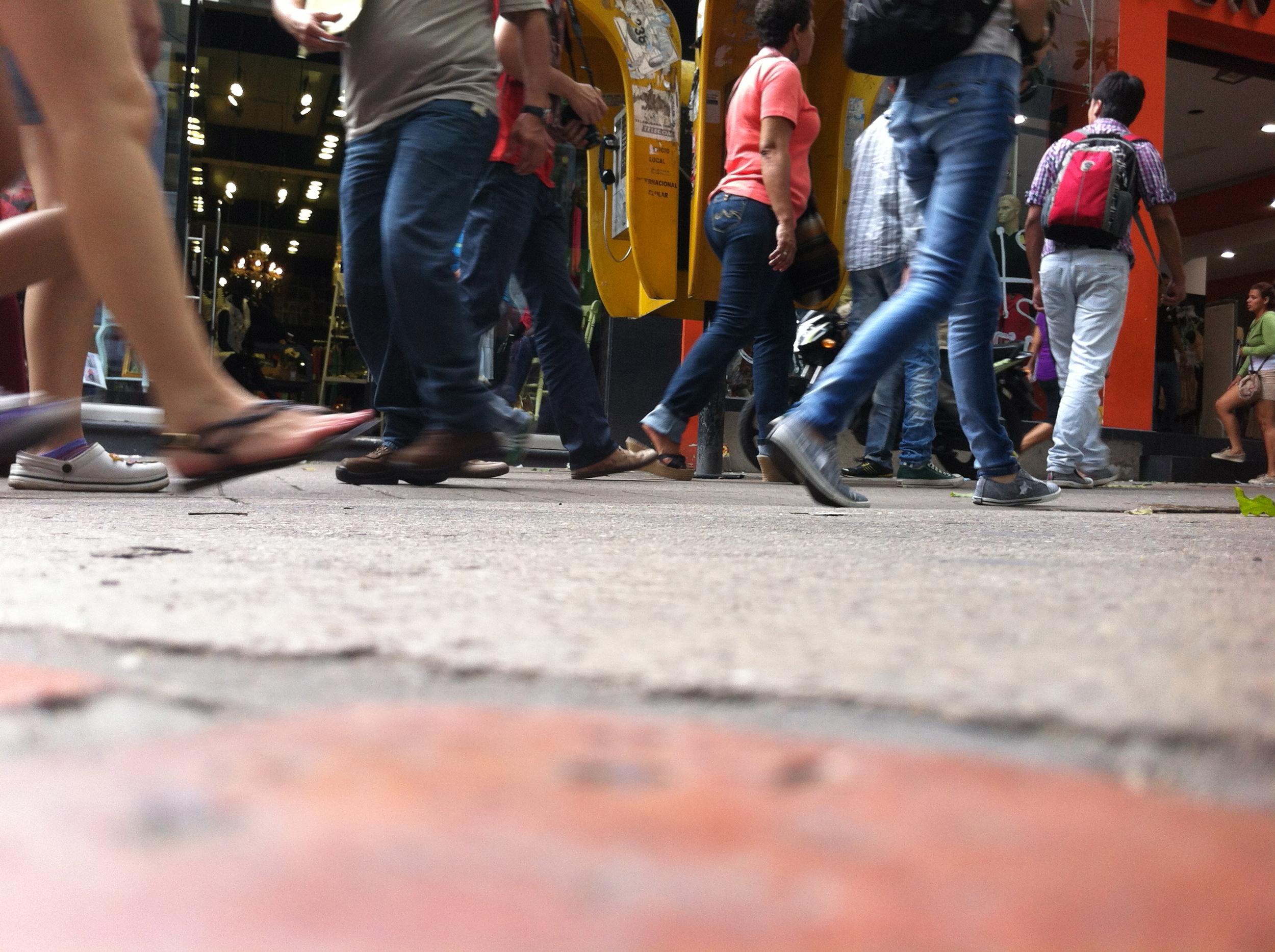 En Méxicoel 75% de los recorridos se hacen a pie