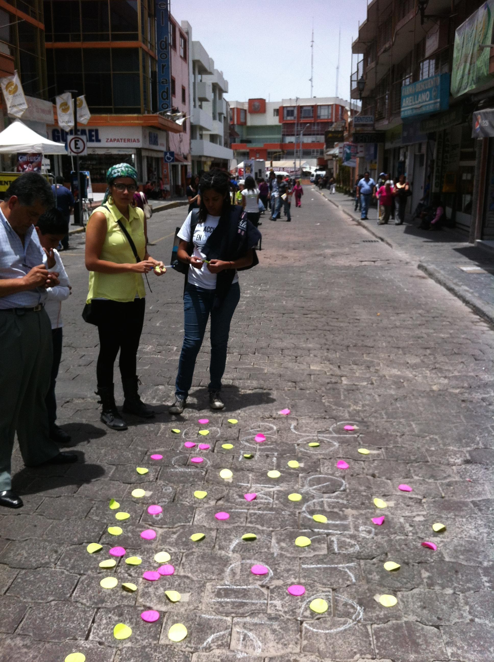 #guerrereando YO QUIERO QUE ESTA CALLE #1congresopeatonal organizado por Liga Peatonal