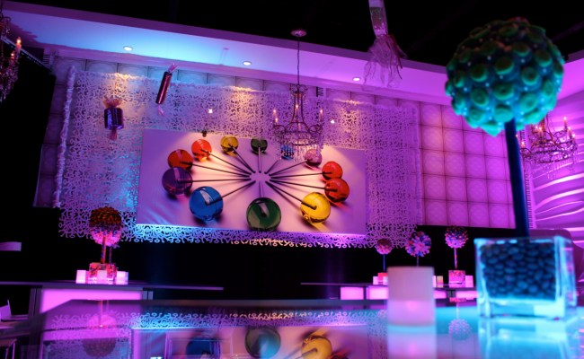 Modern Candy Theme Sweet Sixteen At Vegas Nj Randolph