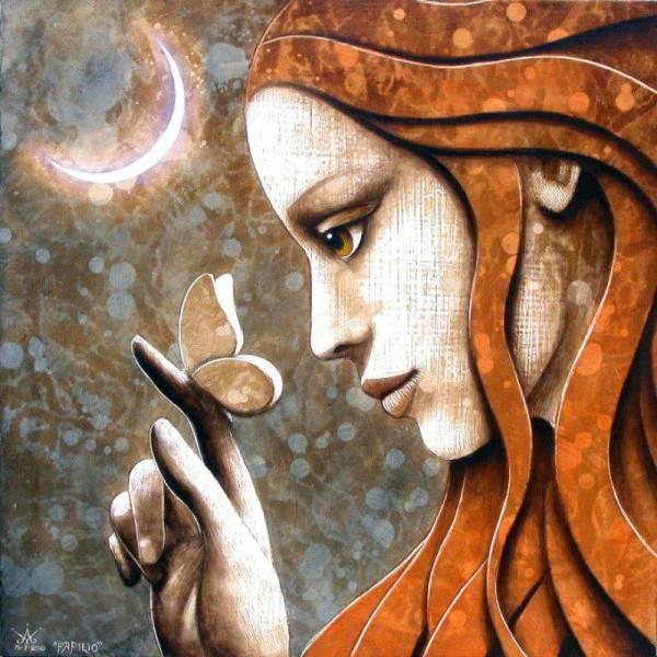 Spiritual Butterfly Art