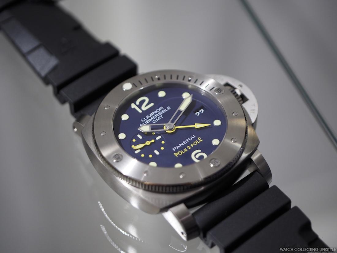 Insider Panerai Luminor Submersible 1950 3 Days GMT