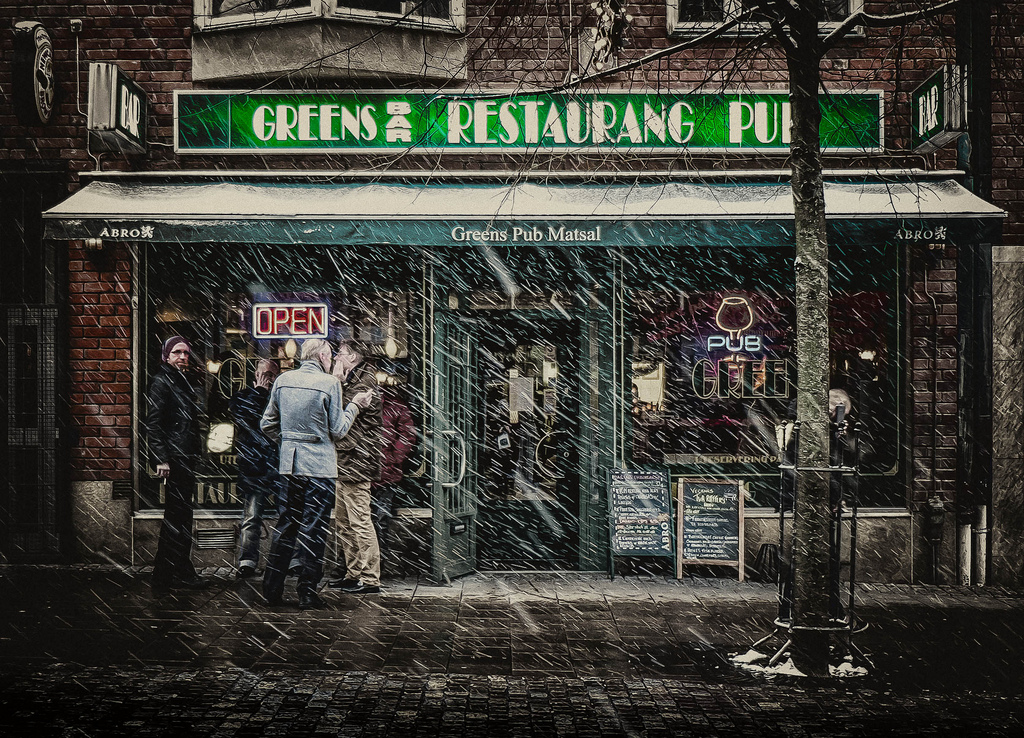 Green's Bar in Sundbyberg