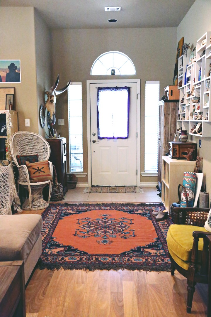 MY ECLECTIC BOHO ENTRYWAY  Welcome boho babes