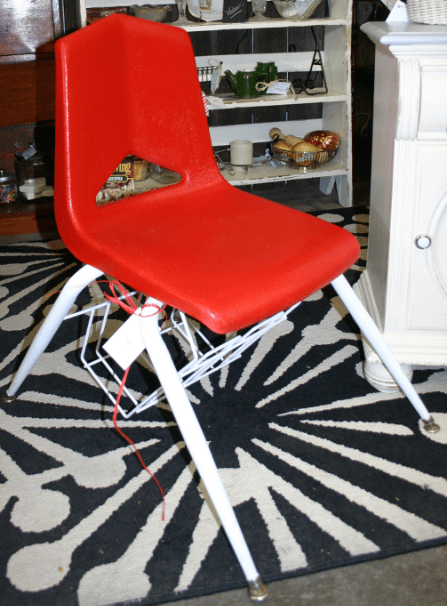 how to paint plastic chairs massage reviews updated antique school desk and chair beckwith s treasures img 1215 jpg