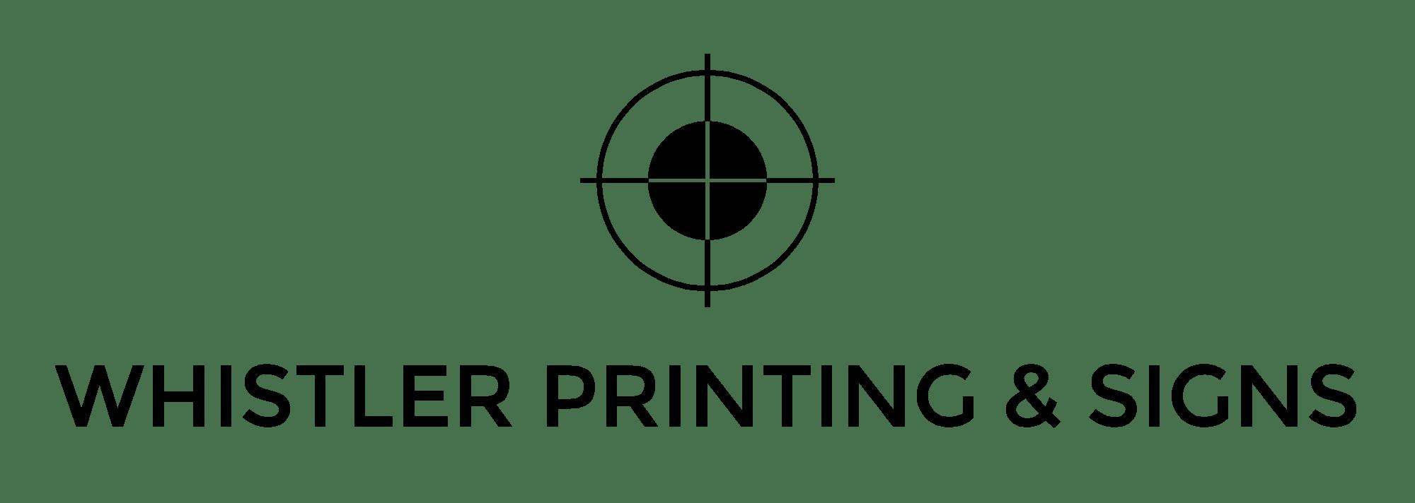 Whistler Printing & Signs Ltd.