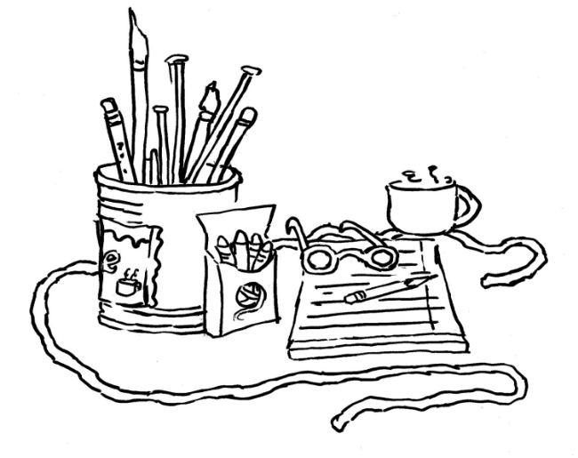 Let the Fun Begin: Crafter's Coloring Companion — Michelle