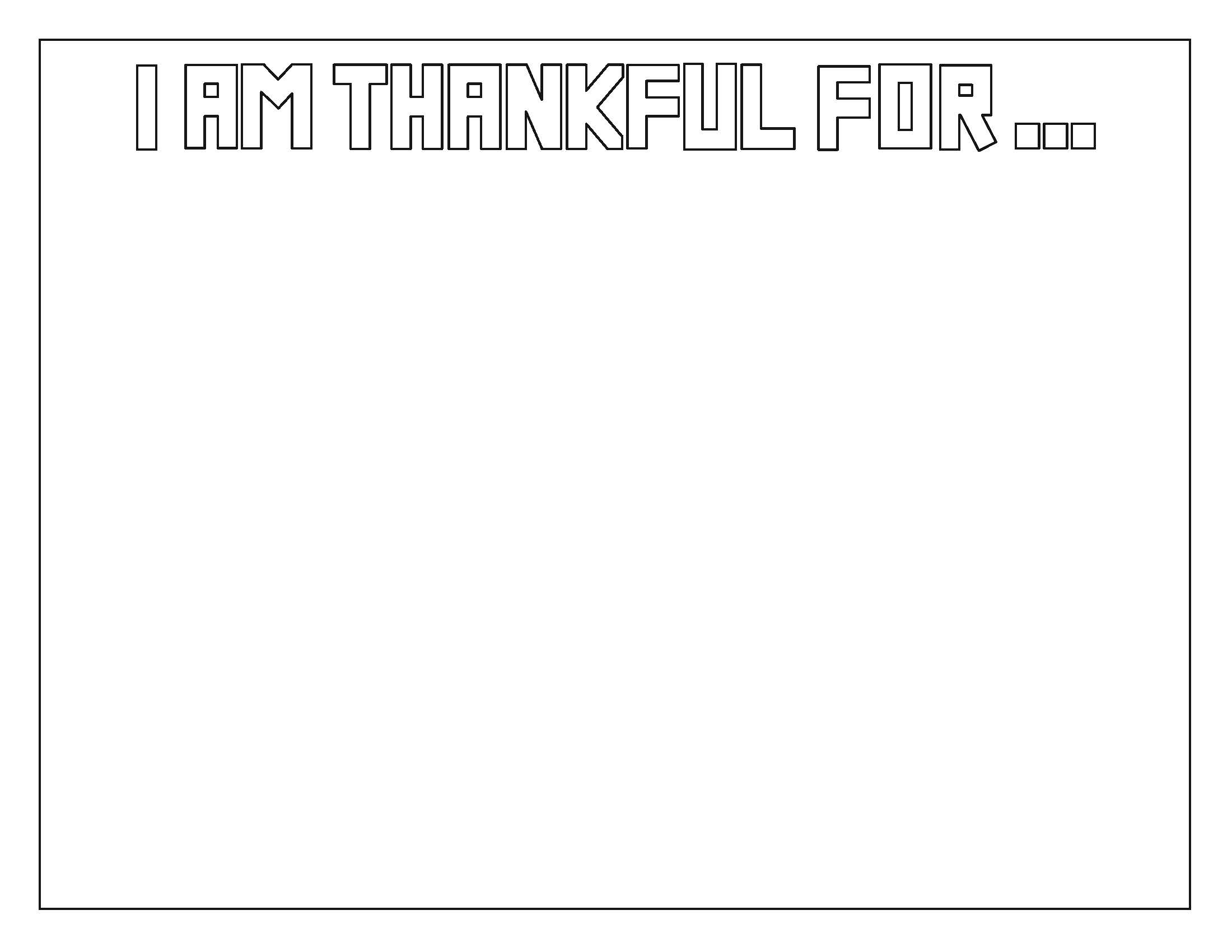 I am Thankful For...Collage — My Art To Inspire