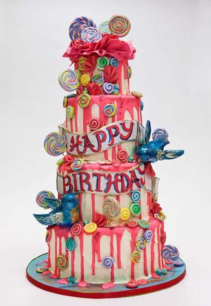Fancy Birthday Cake Images