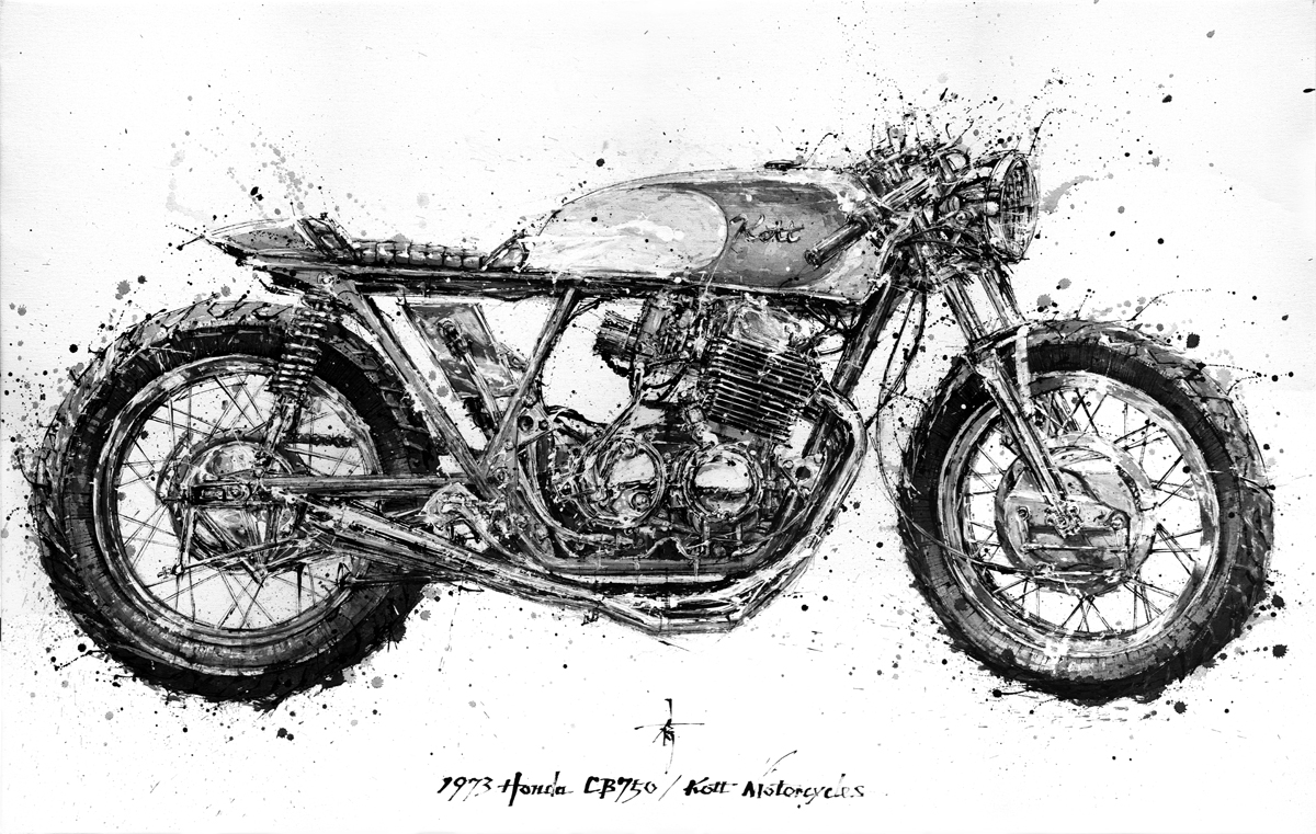 medium resolution of 1973 honda cb750 kott motorcycles hi jpg
