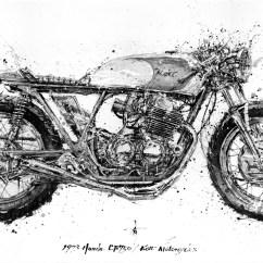 1975 Cb750 Wiring Diagram Lancer Stereo Builds Kott Motorcycles 1973 Honda Hi Jpg