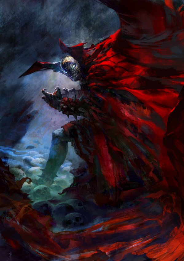 Spawn Comic Art Fan