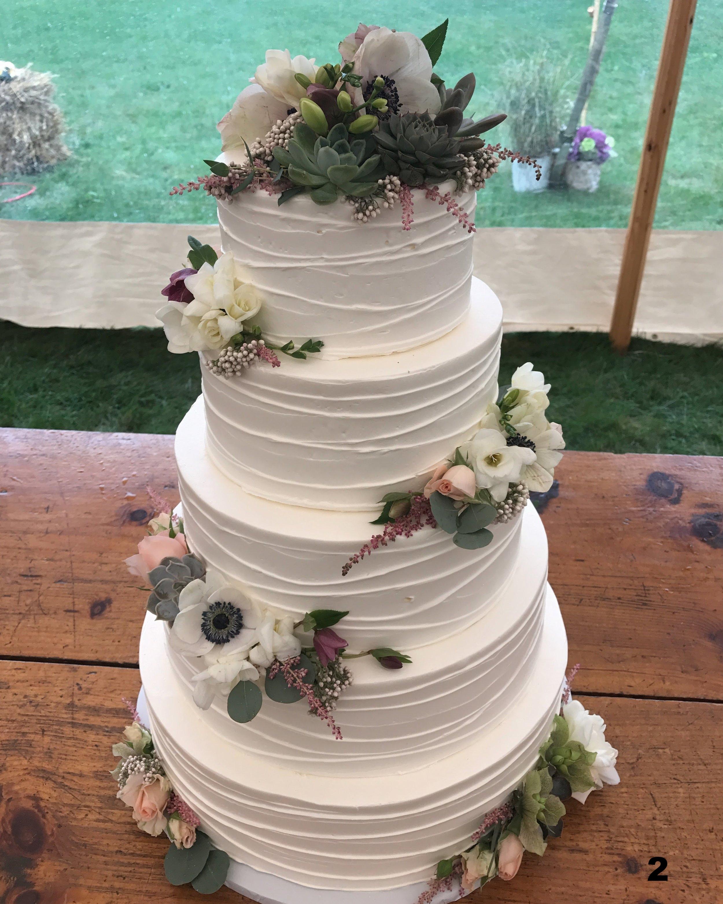 Wedding Cakes Gallery 1 Cottage St Bakery
