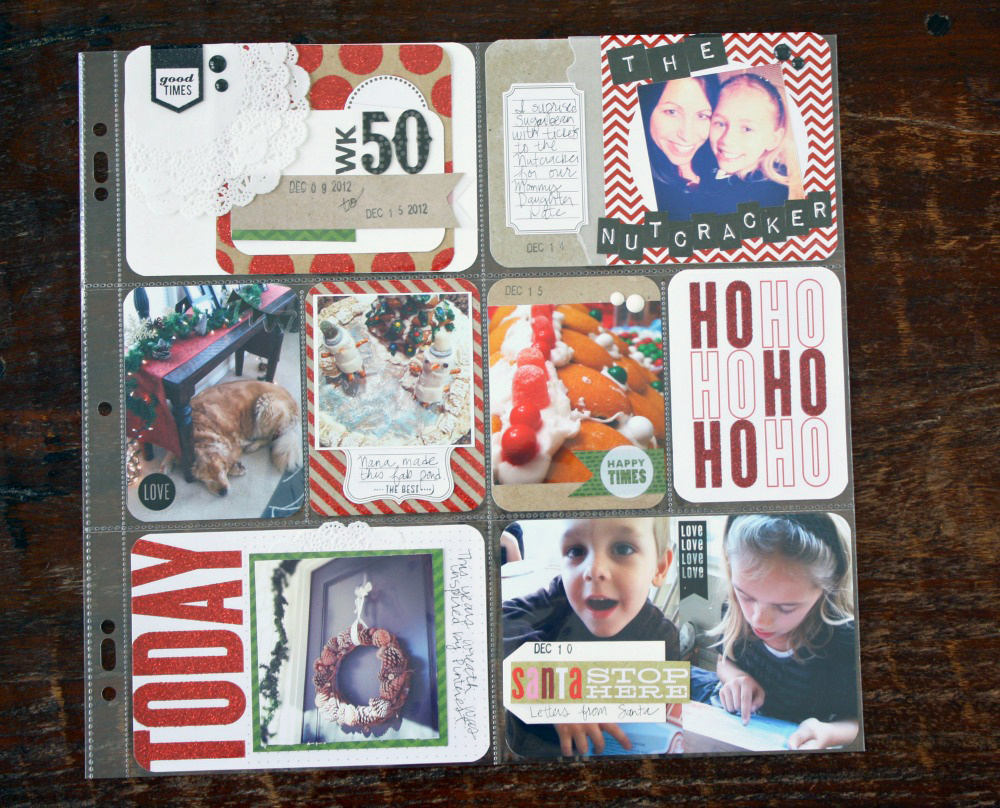 Holiday POCKET PAGES Page Me Amp My BIG Ideas