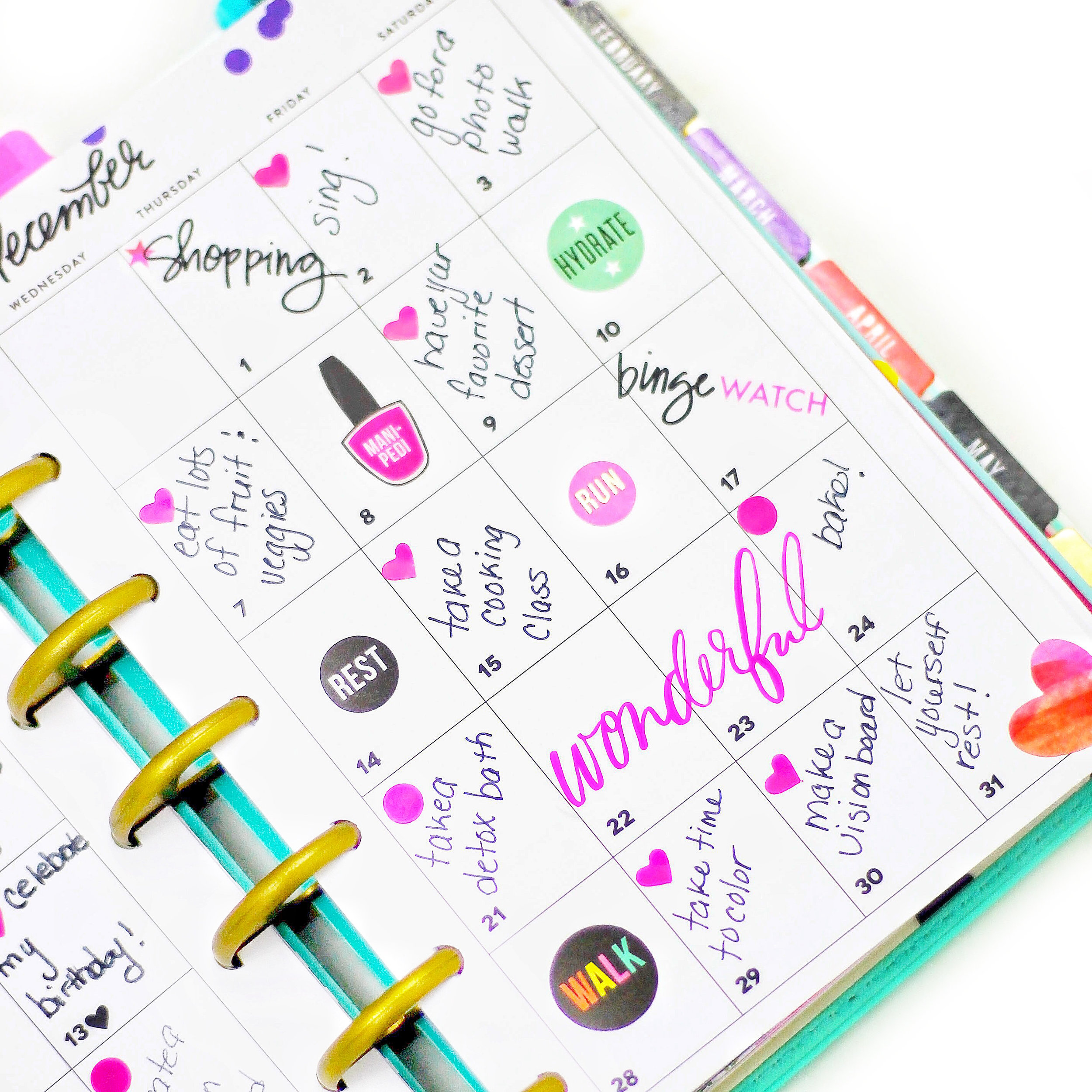 Pages Happy Planner Free Printable