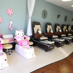Child Pedicure Chair Kids Moon Princess Treatments Perfect 10 Nail Spa With Our Special Hello Kitty Kid Sized Chairs We Re Ready To Treat Every Little Like A Queen