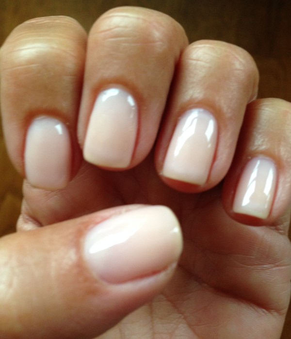 20 Gel Nails Salons Use Natural Color Pictures And Ideas On Meta