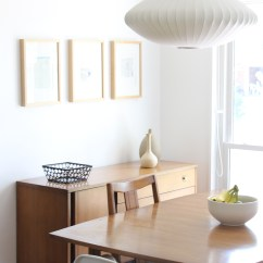 White Wooden Dining Chairs Outdoor Rocking Canada Our House: Midcentury Modern In St. Louis, Part Two — Mindful Closet