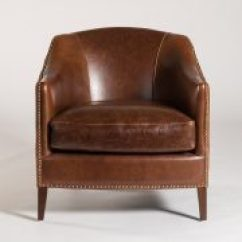 Barrel Back Chair Wheelchair Wheels Vail Leather Edit Design House