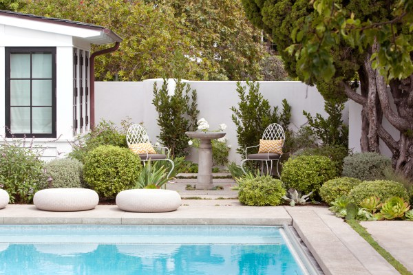 landscape design and home garden