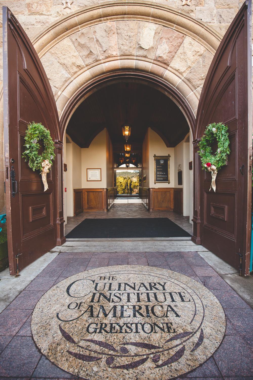 Shannon  Craigs Elegant Winter Wedding  Culinary Institute of America at Greystone  St