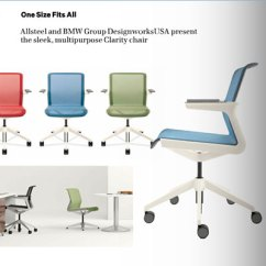 Allsteel Task Chair White Covers Near Me Clarity Sheila Kim Source Contract Magazine July August 2012