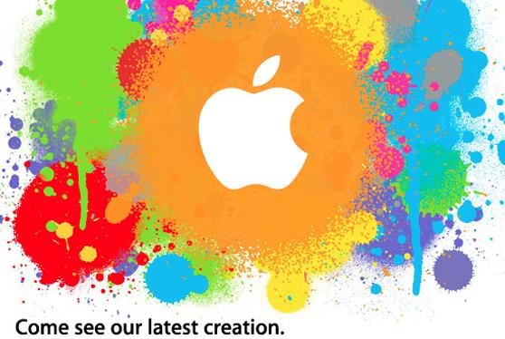 Η πρόσκληση για την παρουσίαση του πρώτου iPad τον Ιανουάριο του 2010