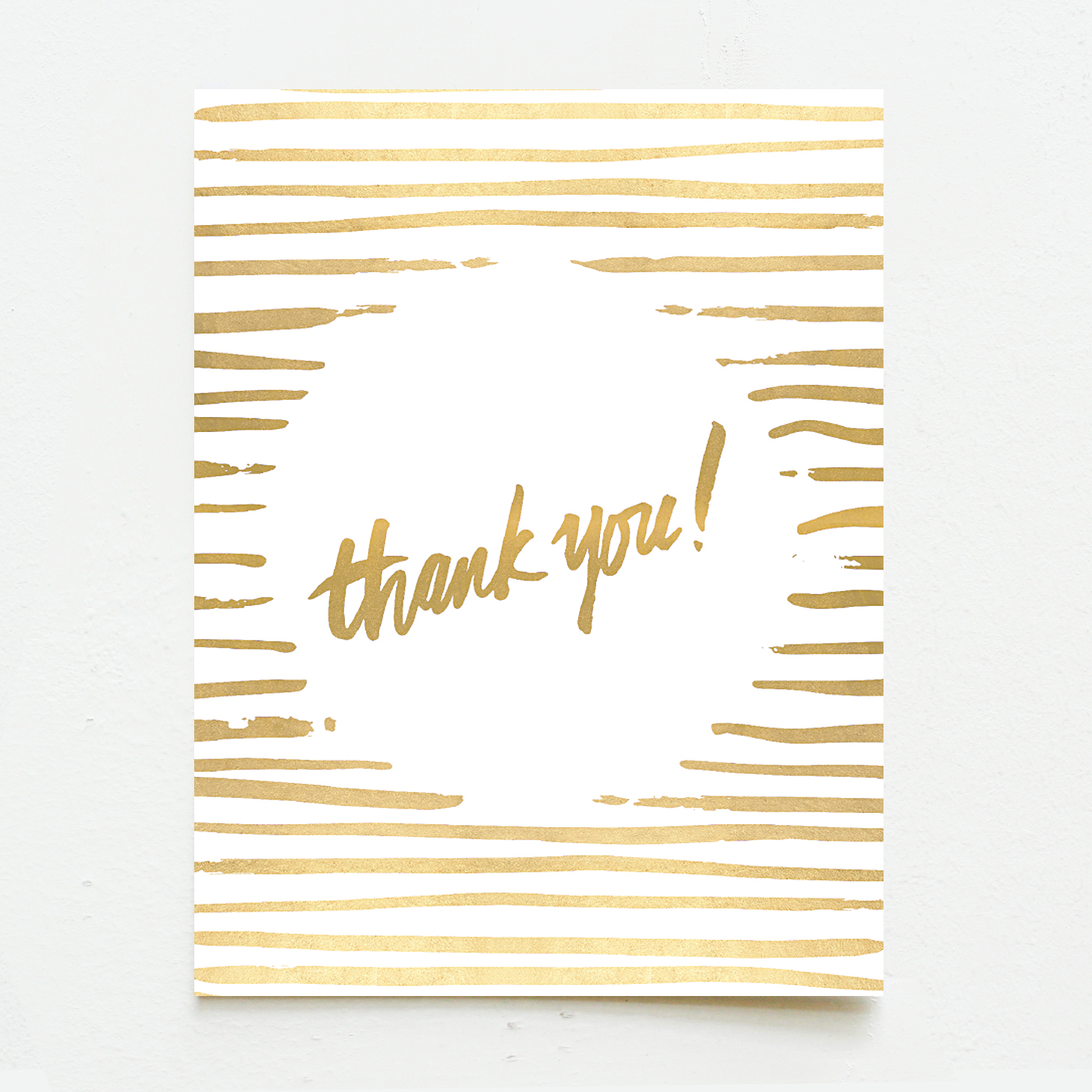 Gold Thank You Wink Wink Paper Co