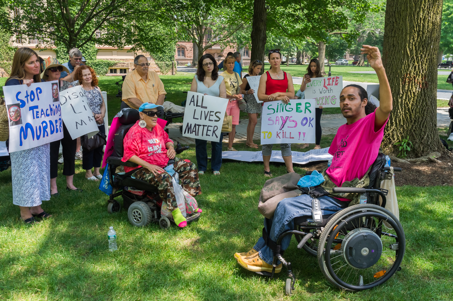 Disability Organizations Come Together to Protest