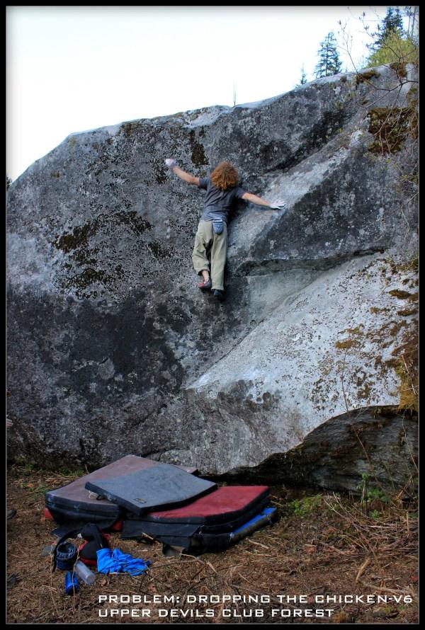 Upper Morpheus Boulders Western Washington Bouldering