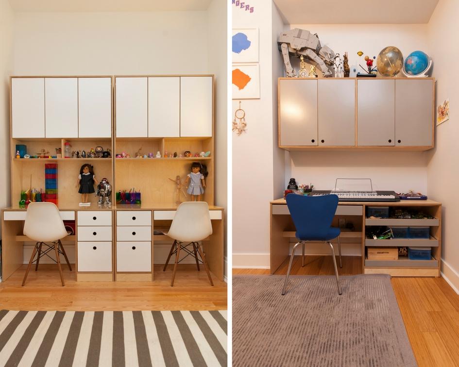 Modern kids desks for study and art  Casa Kids