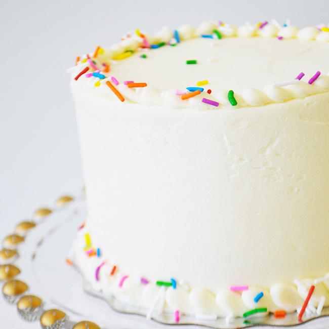Vanilla Cake Bake Sale Toronto
