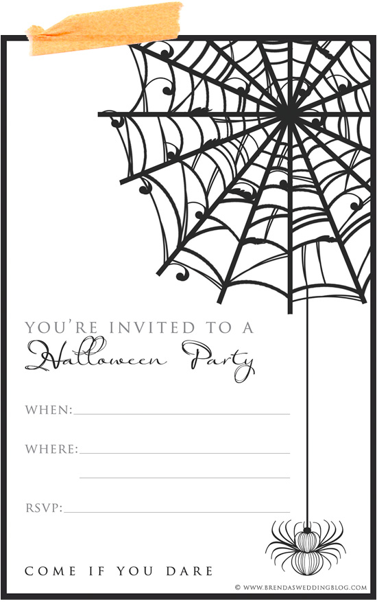 9 Fun & Stylish Ideas for Halloween Weddings + a Printable