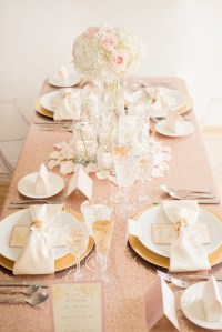 Romantic Wedding Table Settings & Table Settings For