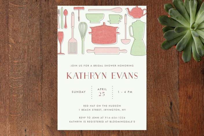 kitchen bridal shower theme decor sets themed invitations and printables retro
