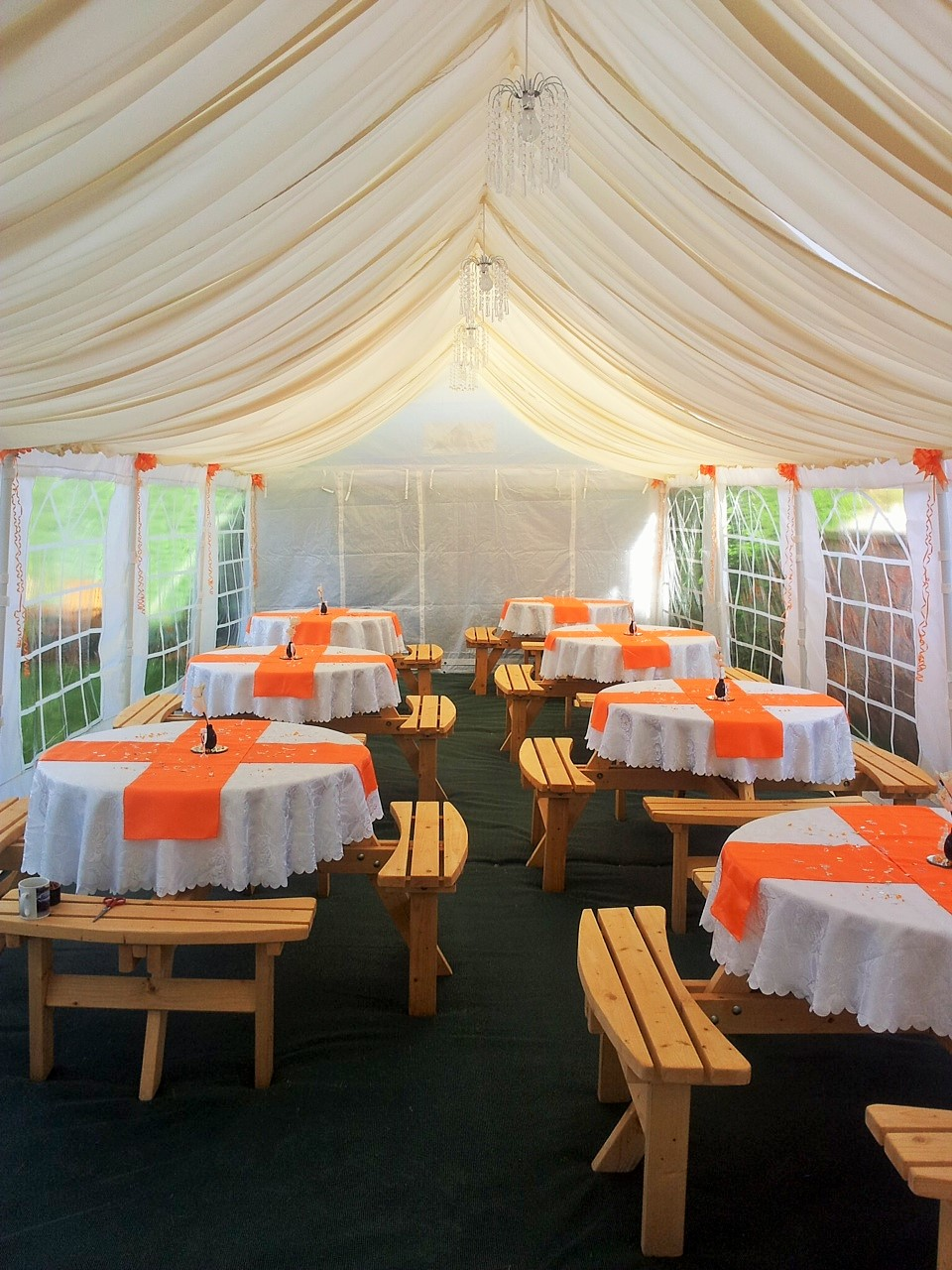 wedding chair covers doncaster vancouver mini garden marquee hire based in call 07731 510 685 for a roof lined jpg