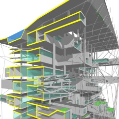 Architecture Section Diagram Honda Goldwing Gl1200 Wiring Over Drawing Ltl Architects Parktower Residential 4 Jpg