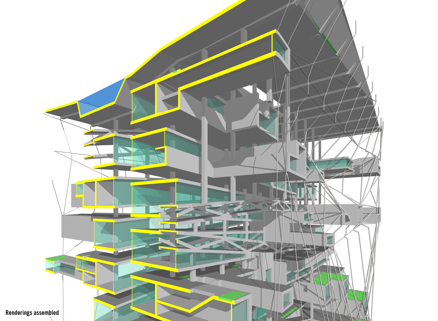 architecture section diagram deh p3600 wiring over drawing ltl architects parktower residential 4 jpg