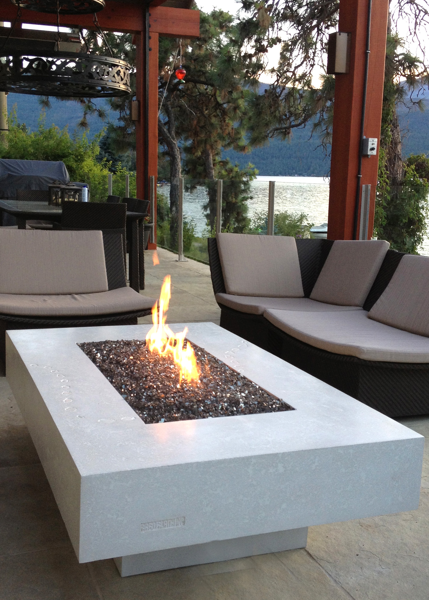 CONCRETE FIRE TABLES  Fired Earth Inc