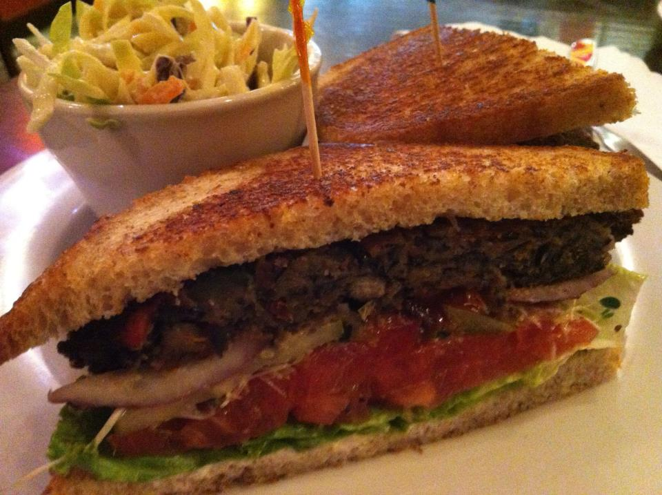 Samson Burger  Ethos Vegan Kitchen  Dafoodie