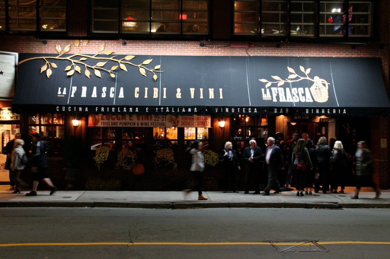 New Friends At La Frasca Feast An Edible Road Trip