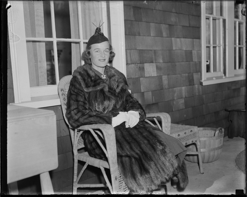 Ethel in an undated photoby Leslie Jones From the Boston Public Library.