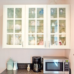 Pictures For Kitchen Walls Compact Appliances My Husband Let Me Paint The Pink Christina Elyse Glass Door Cabinets