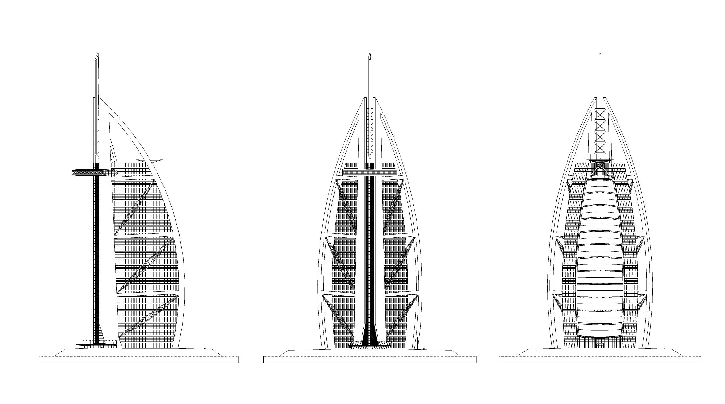 BURJ AL ARAB, DUBAI — WKK