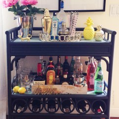 Kitchen Carts On Wheels Costco Remodel Bar Cart Essentials — 2 Ladies & A Chair