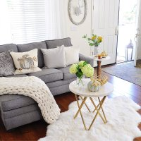 Neutral Living Room Decor for Fall  2 Ladies & A Chair