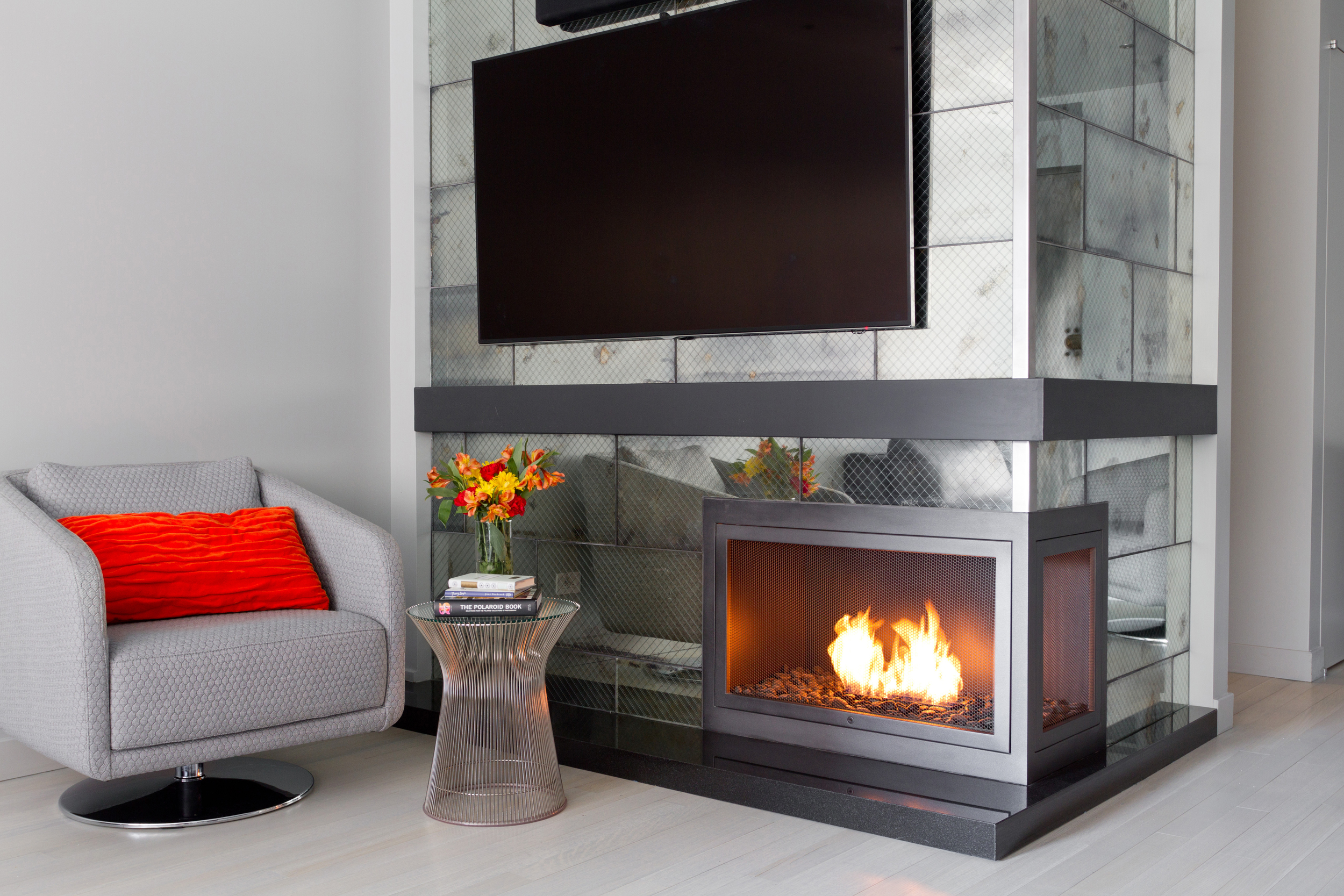 Custom Ventless Fireplaces  Personal Fireplaces designed by HearthCabinet
