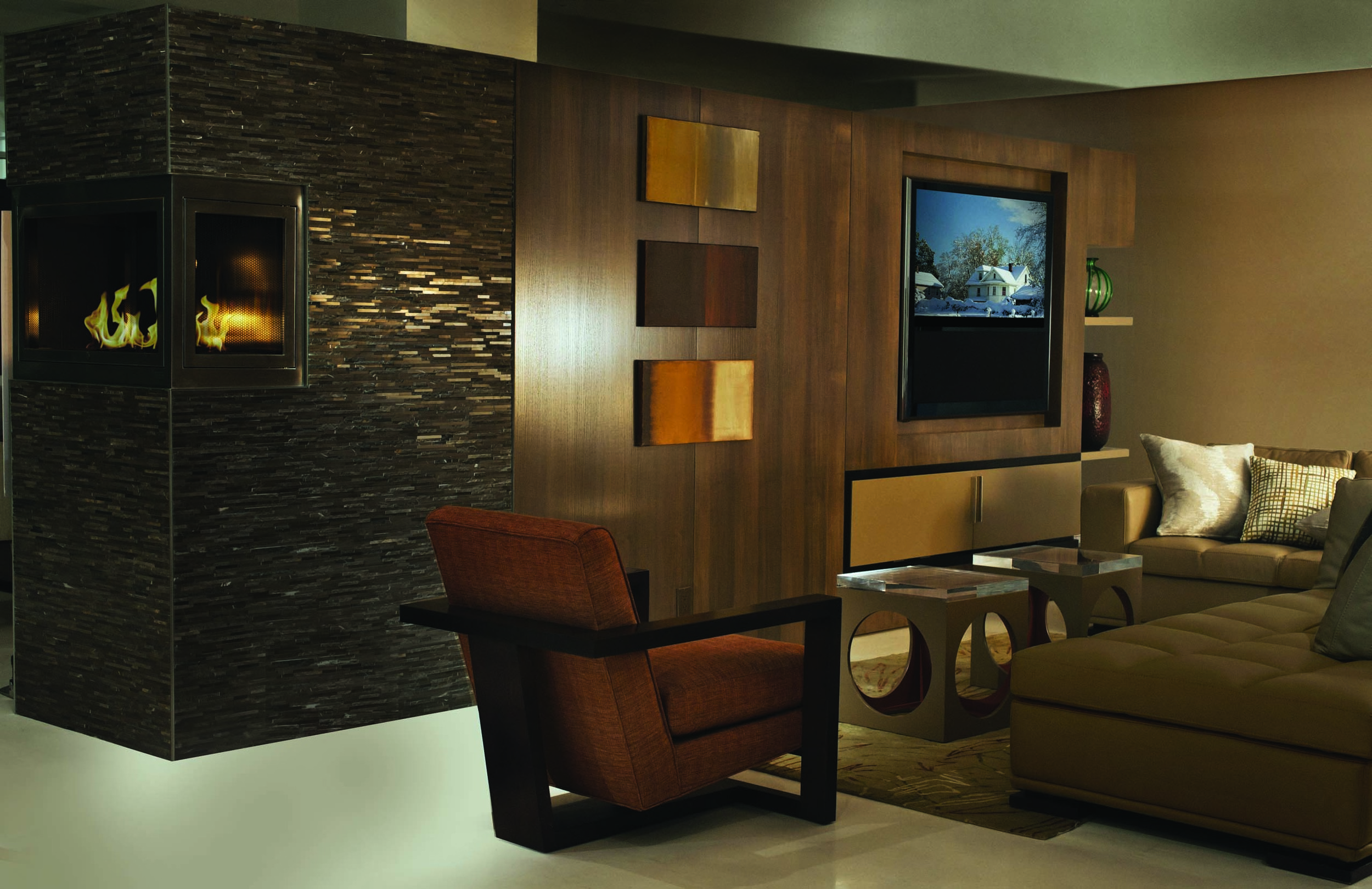 Commercial Fireplaces  Office Fireplace Designs by HearthCabinet